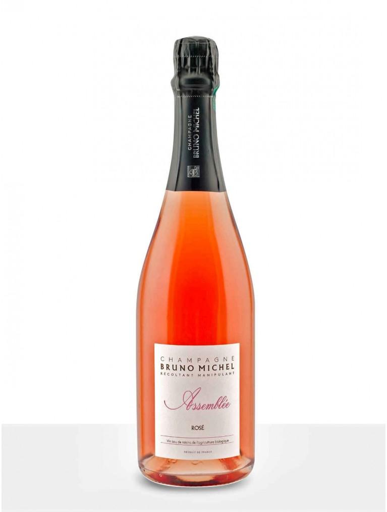 Bruno Michel Champagne Assemblée Rosé