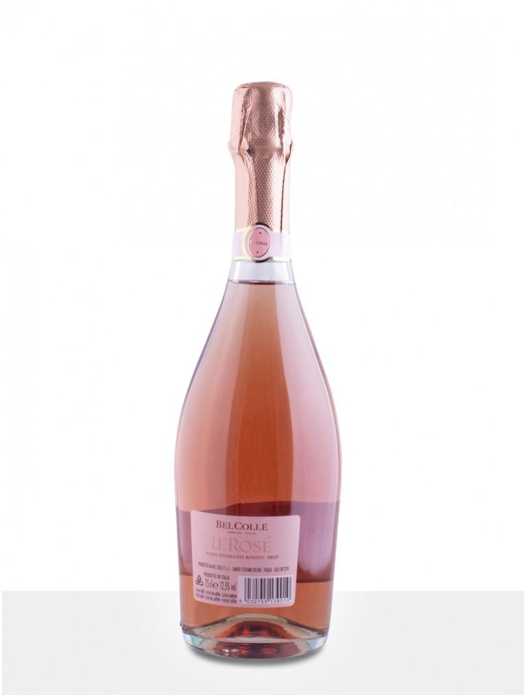 Bel Colle Le Rosé Spumante Brut